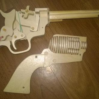 Пистолет резинострел.Стреляет резинками для денег.