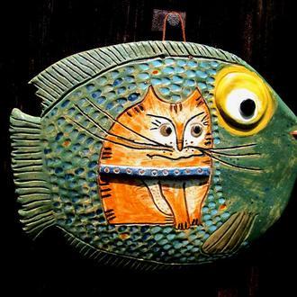 Риба з котом