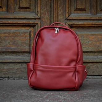 Рюкзак  женский кожаный. Городской рюкзак.