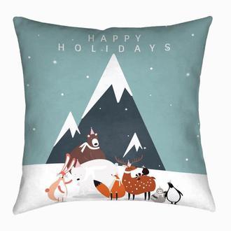 Новогодняя подушка Holidays
