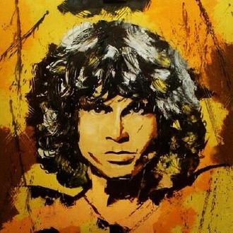 """Jim Morrison"" поп-арт"