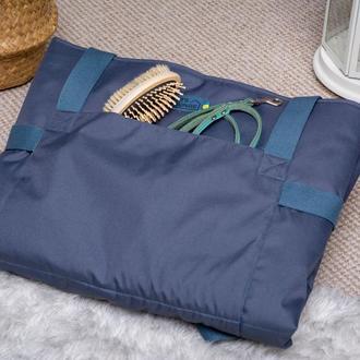 Сумка - лежак для котов и собак Pets Lounge Travel Bed, синяя