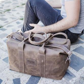 кожаная сумка 0013 из винтажной кожи
