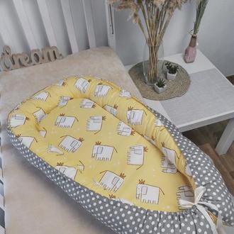 Кокон гнездышко для новорожденного