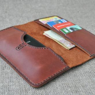 Чехол для мобильного телефона из натуральной кожи  H02-210