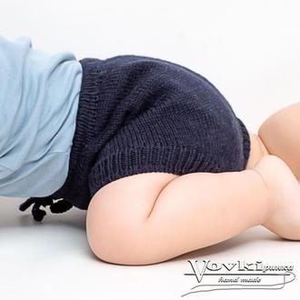 Шорты блумеры мериносовые для мальчика или девочки