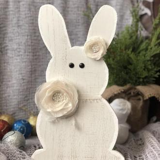 Новогодний декор Зайка новогодний  Кролик рождественский