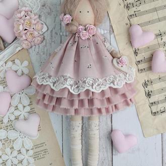 Кукла интерьерная, ангел в стиле Тильда