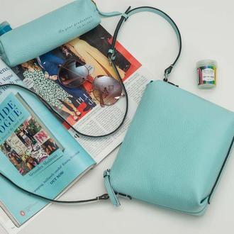 Женская сумка Ecuador  из высококачественной итальянской кожи