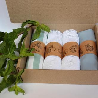 Корпоративные подарки Киев, набор мешочков для продуктов киев, экомешочки Киев, подарки коллегам