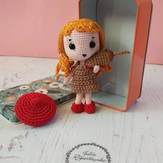 Куколка амигуруми, вязаная персонализированная кукла