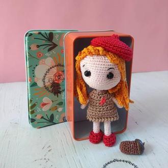 Куколка, кукла с перонализациеей, амигуруми куколка