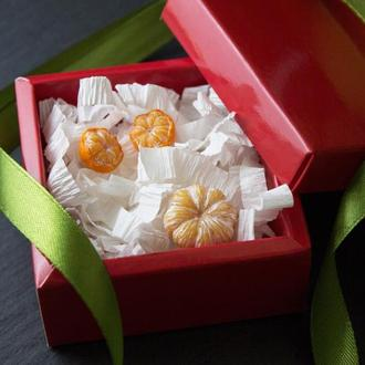Комплект новогодних украшений, серьги мандаринки, брошь мандарин, подарок на новый год 2021