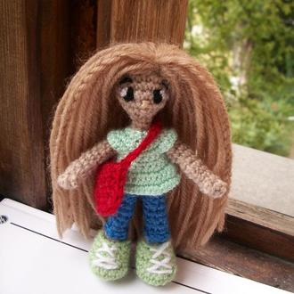 Куколка амигуруми
