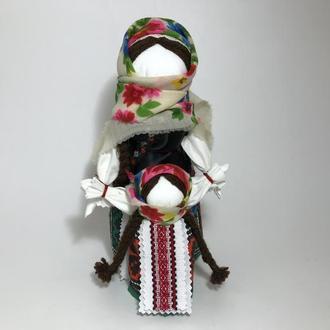 Кукла-мотанка ′Ведучка′ (Ведущая по жизни)
