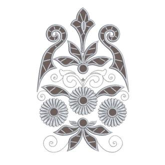 Дизайн Ришелье 01 для машинной вышивки