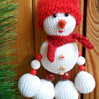 Новорічний сніговик