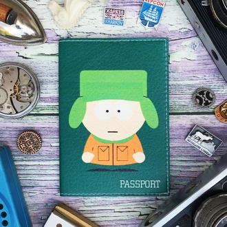 Обложка на паспорт, паспортная обложка, Кайл, Южный парк, South Park, обложка для паспорта