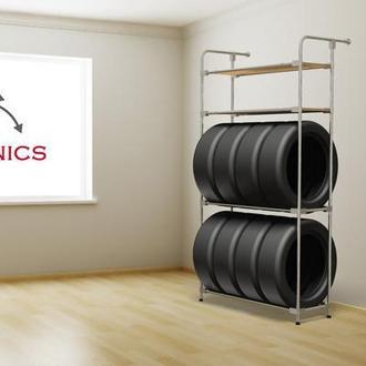 Модный стеллаж для хранения шин - (Model-1322RX)