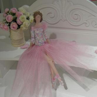 Кукла Тильда 48см Принцесса