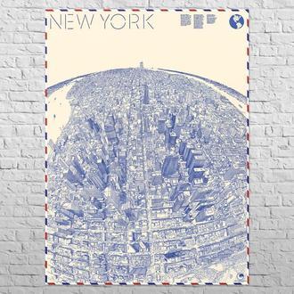 Карта Нью-Йорк, 1982