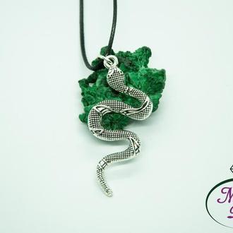 Комплект прикрас Змії. Кулон Змія. Сережки Змії