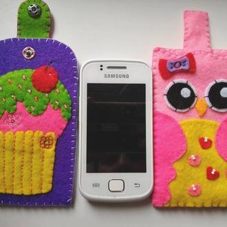 Чехлы для планшетов и телефонов из фетра