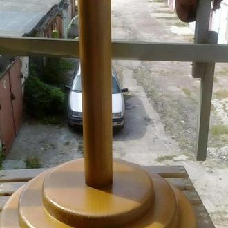 Древко (подставка) деревянная под знамя