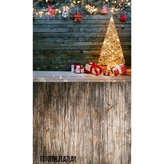Фотофон стена пол угловой Рождество