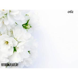 Фотофон виниловый Нежные цветы