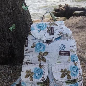 Рюкзак Бирюзовые бабочки