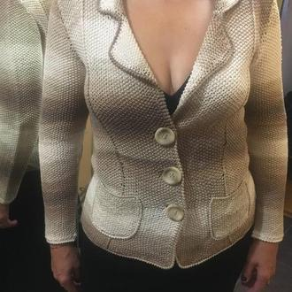 Жакет спицами