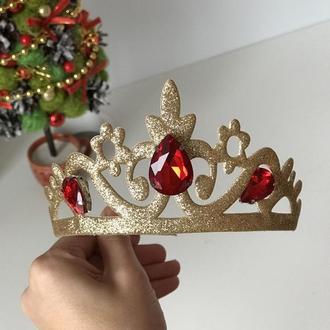 Корона для принцессы золото