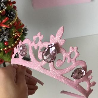 Корона розова 2