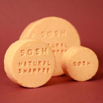 Твердый шампунь SOSH (S) объем (розовый грейпфрут)