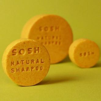 Твердый шампунь SOSH (L) восстанавливающий (апельсин)