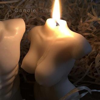Свеча в форме тела