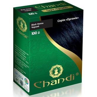 Краска для волос Chandi. Серия Органик. Черный, 100г
