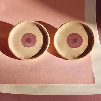 тарелочки грудь