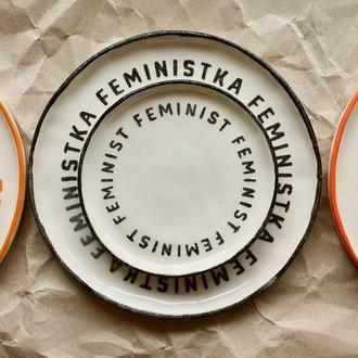 Тарелка Feminist