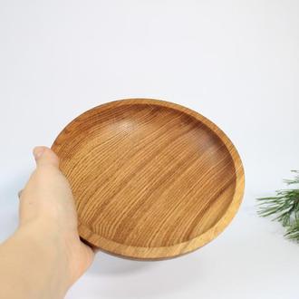 Столовая тарелочка/супничка из дерева