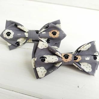 Сірий метелик дитячий баранчики
