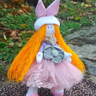 Кукла с ушками,  кукла зайка
