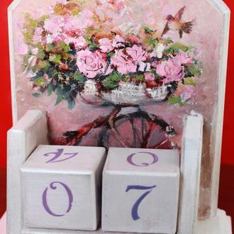 """Вечный календарь в стиле """"Provence"""""""