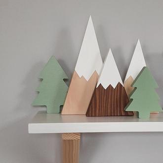 Декор Ялинка (декор Елочка) из дерева