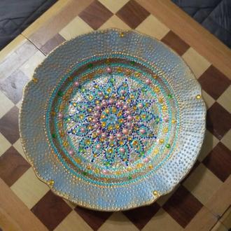 Роспись тарелок /декор