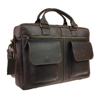 """Кожаная сумка для ноутбука """"Teno 2"""""""