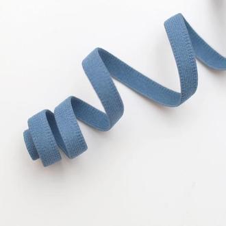 Эластичная отделка пыльно голубая 8 мм