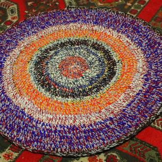 Коврики для пола, коврик вязаный крючком, коврики ручной работы, вязаный ковер, килим,