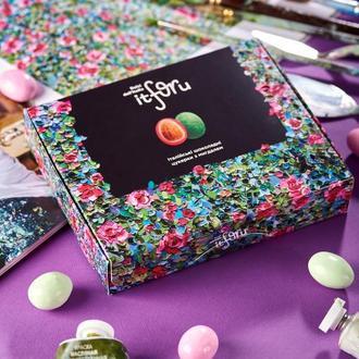 итальянские шоколадные конфеты (грушевый чизкейк - виноград - вишня)
